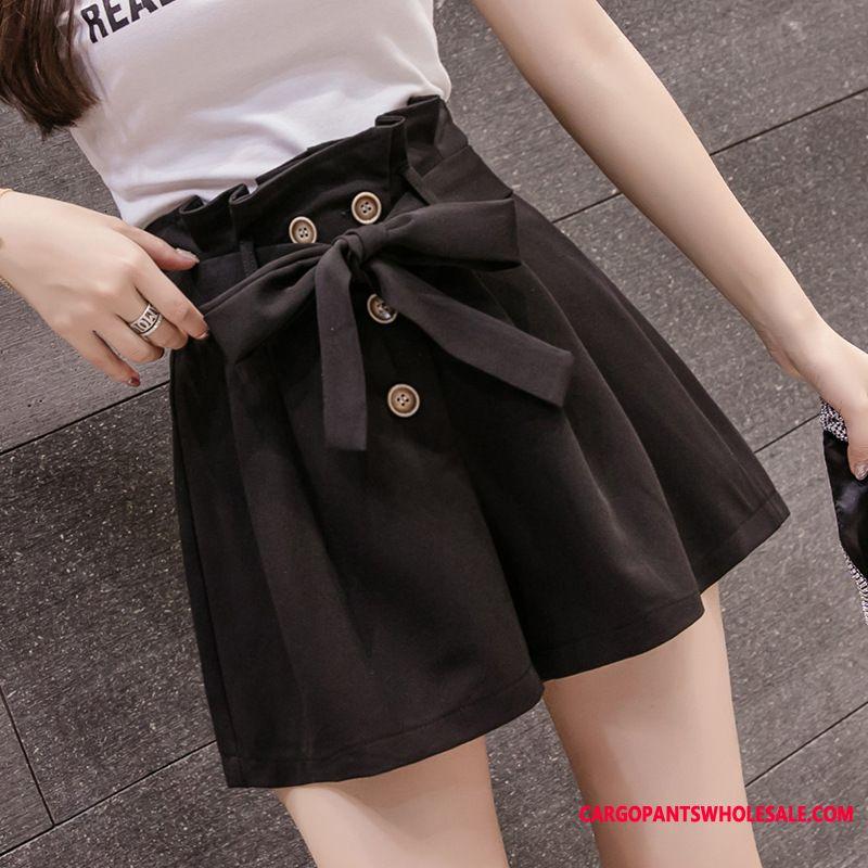 Shorts Women Shorts High Waist Wear Outside All Match Lace