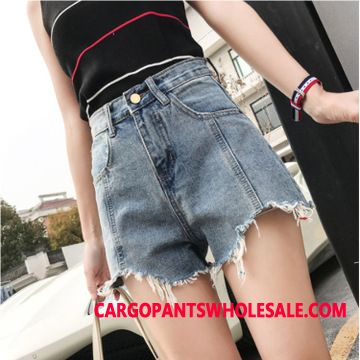 Shorts Dame Hot Bukser Shorts Trend Denim Tassel