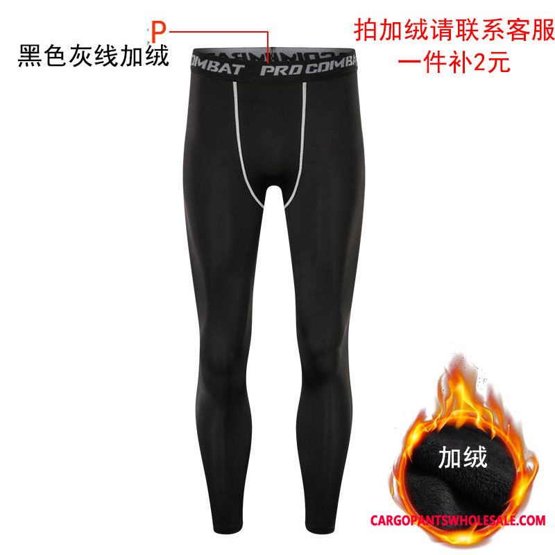 Sweatpants Male Fitness Quick Drying Motion Trousers Tight