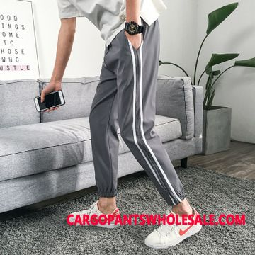 Sweatpants Male Trend Student Men Beam Foot Summer Pants