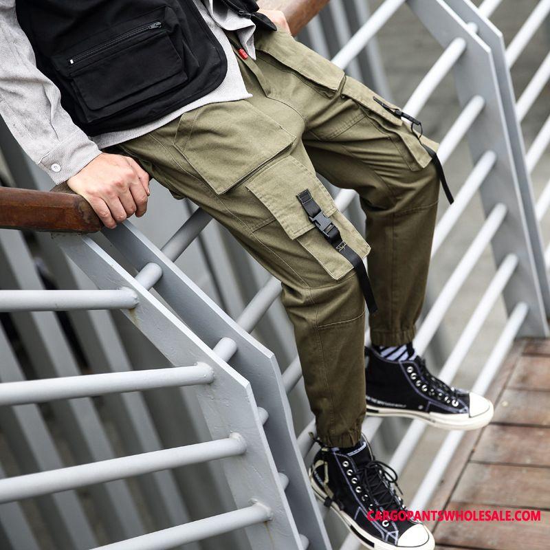 Cargo Pants Male Beam Foot Pants Men Tide Brand Autumn Spring