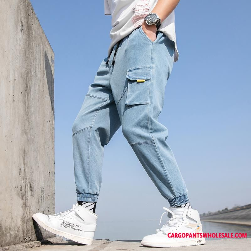 Cargo Pants Male Casual Pants Loose The New Tide Trend