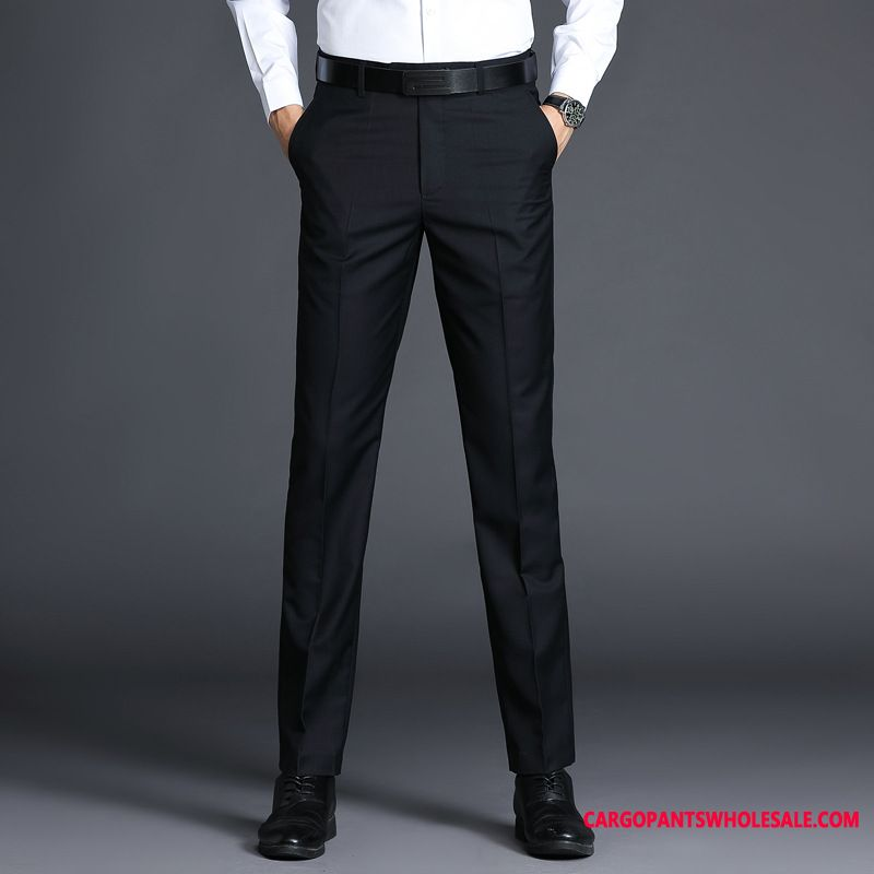 Dress Pants Male Thin Section Straight Men Slim Fit Pants Business