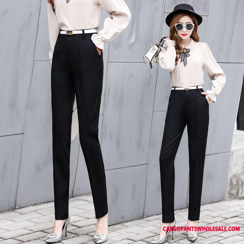 Dress Pants Women Black The New Trousers Slim Casual Pants Spring