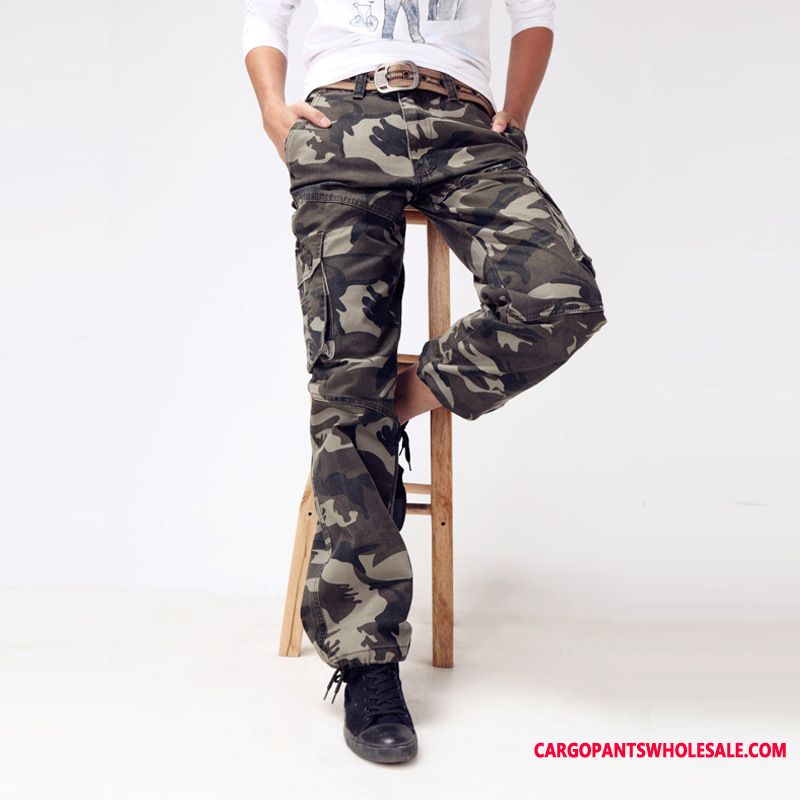 Cargo Pants Male Camouflage Casual Pants Hiking Men Outdoor The New Spring