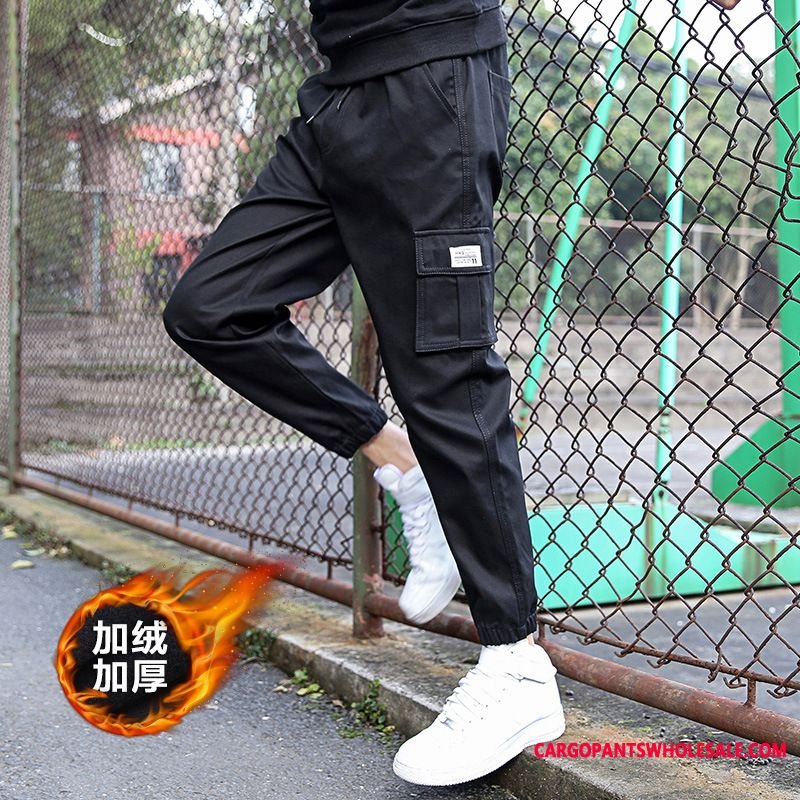 Cargo Pants Male Green Cargo Pants Small Men Juvenile Winter Trousers