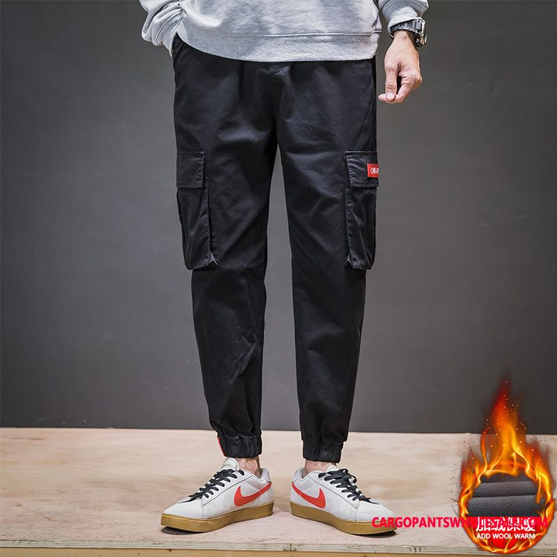 Cargo Pants Male Loose Beam Foot Men Pants Cargo Pants Casual Pants
