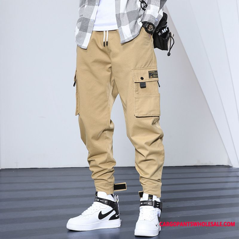 Cargo Pants Male Loose The New Men Tide Brand Winter Jeans