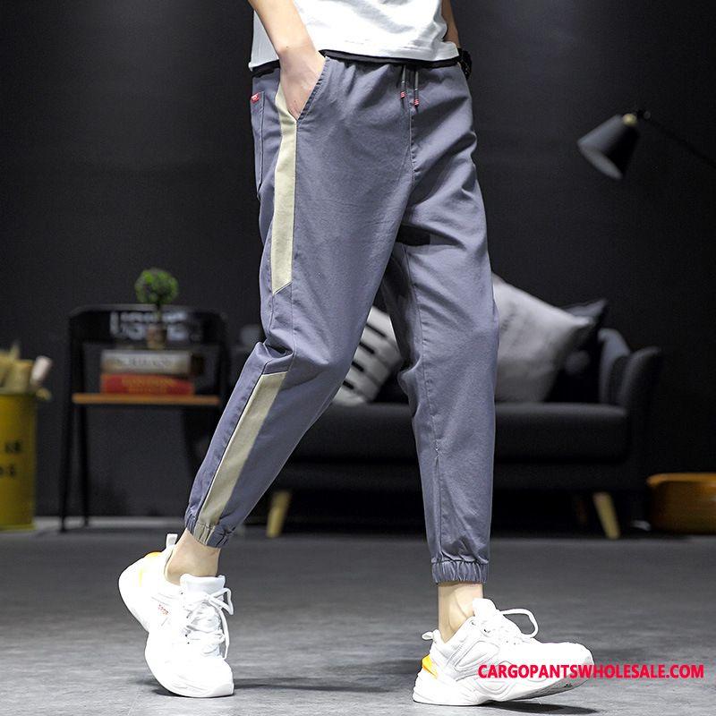Cargo Pants Male Straight Cargo Men Trend Pants Loose