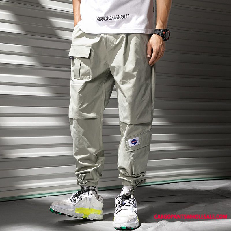 Cargo Pants Men Spring Tide Casual Pants Small Summer