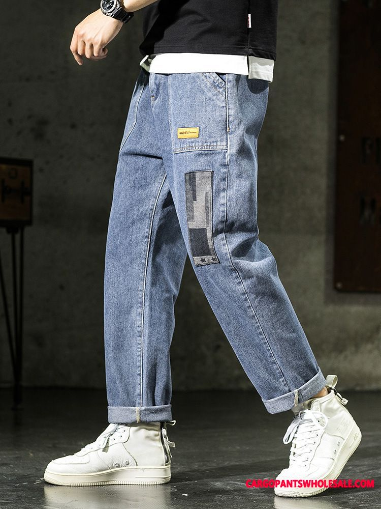 Jeans Men Trend Summer Thin Section Trousers All Match
