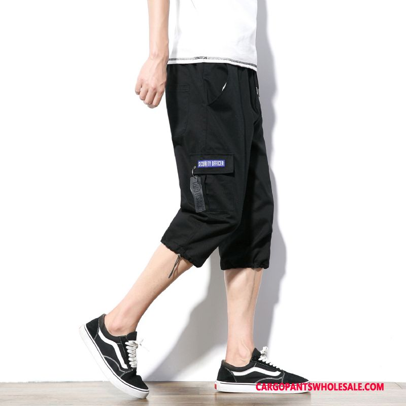 Capri Pants Male Black Fashion The New Men Shorts Casual Pants Summer