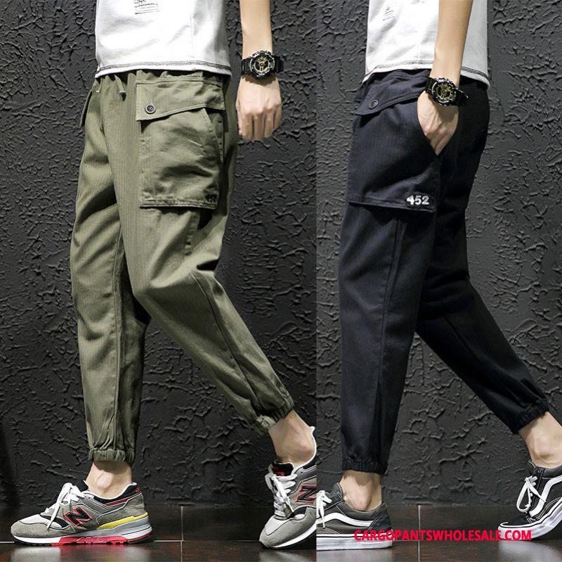 Cargo Pants Male Khaki Pants Summer Men Trend Cargo Pants Loose
