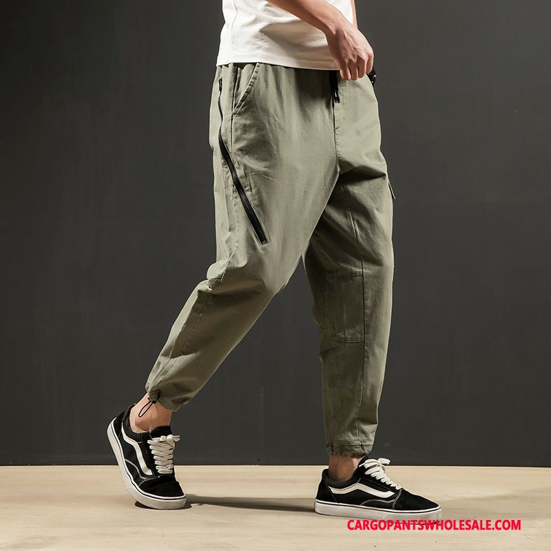 Cargo Pants Male Light Green Cargo Pants Spring Men Men Summer Casual Pants Harlan