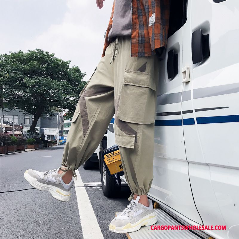 Cargo Pants Male Light Green The New Pants Loose Cargo Pants Trend