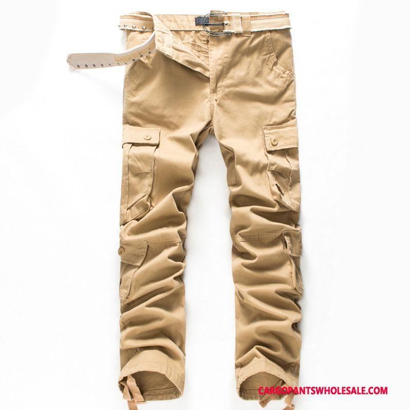 Cargo Pants Men Khaki Pants Autumn Trousers The New Cargo