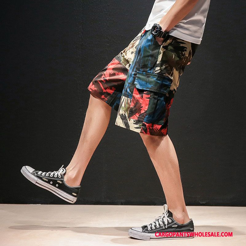 Cargo Shorts Male Camouflage Leisure Pants Cargo The New Beach