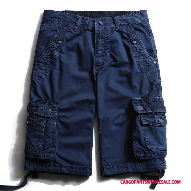 Cargo Shorts Male The New Shorts Men Europe Summer Cotton
