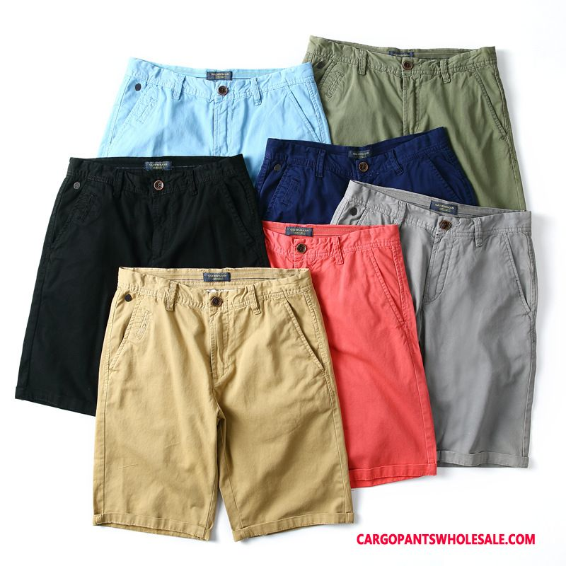 Cargo Shorts Male Yellow Couple Shorts Men The New All Match Trend