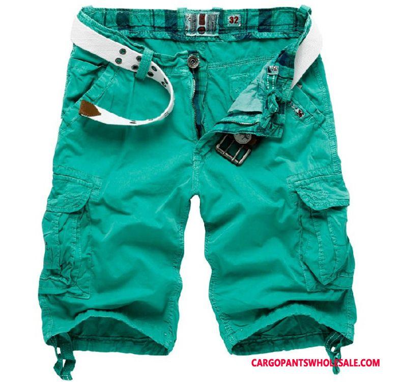 Cargo Shorts Men Green Shorts Super Large Size Clearance Pants