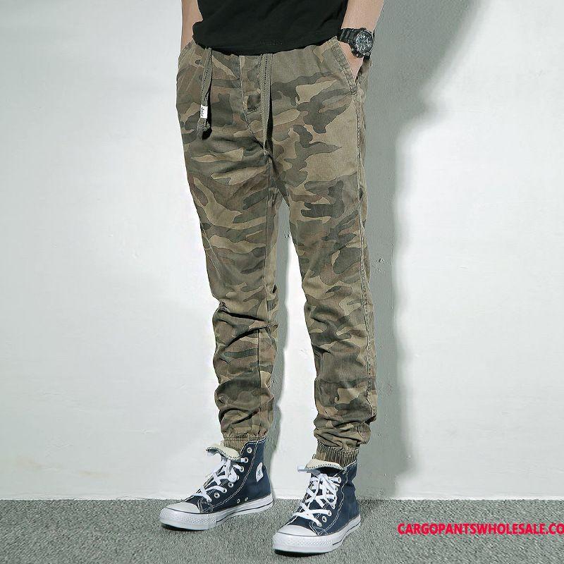 Cargo Pants Men Camouflage Casual Pants Trousers Cargo Pants