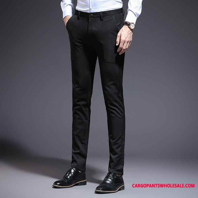 Dress Pants Men Casual Pants Small Trousers The New Slim Fit