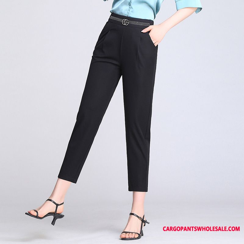 Dress Pants Women Black Pants Suit Summer Harlan The New