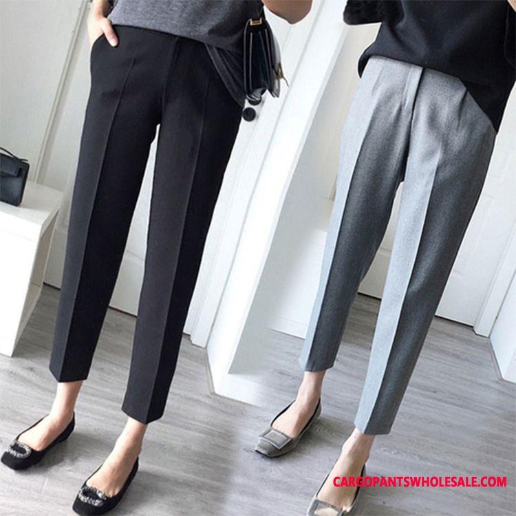 Dress Pants Women Small Student Straight Loose Leisure