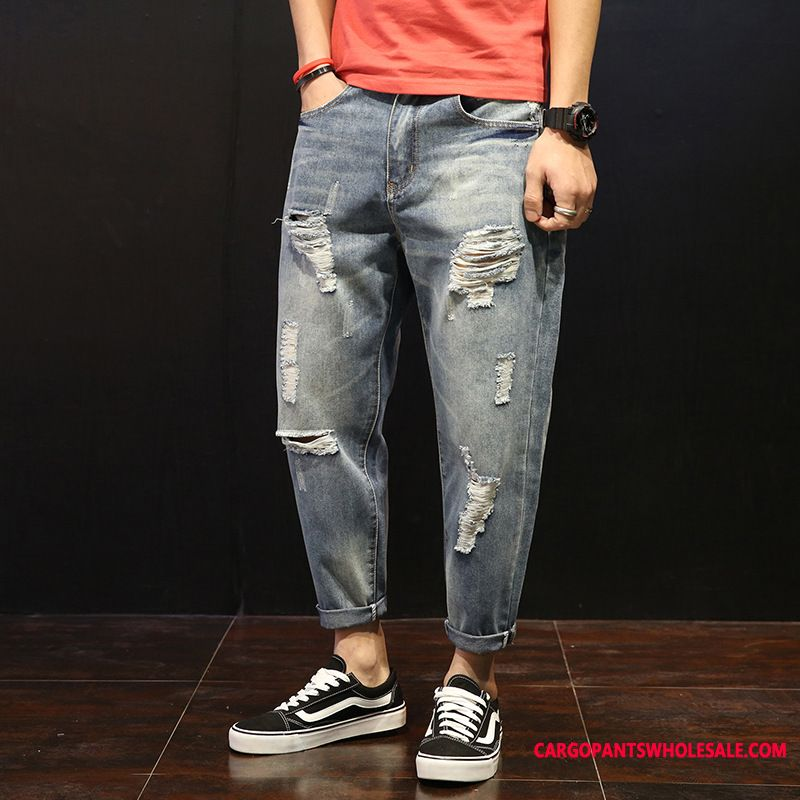 Jeans Men Green Juvenile Small Harlan Jeans Trend