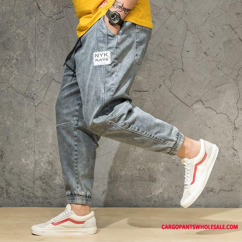 Jeans Men Plus Size Jeans Fat Man Spring Loose