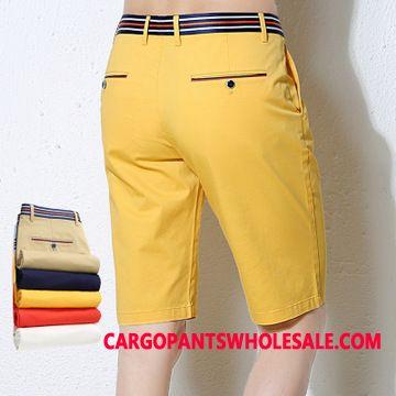 Shorts Male Cotton Cotton Men Shorts Summer Elastic Force