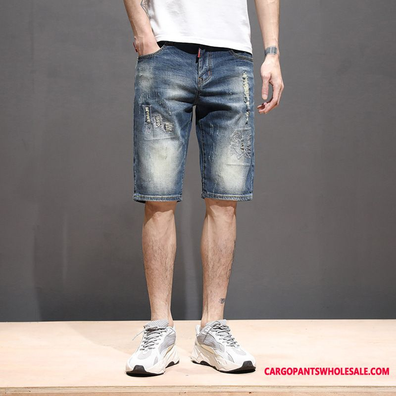 Shorts Men Straight Fashion Shorts The New Jeans