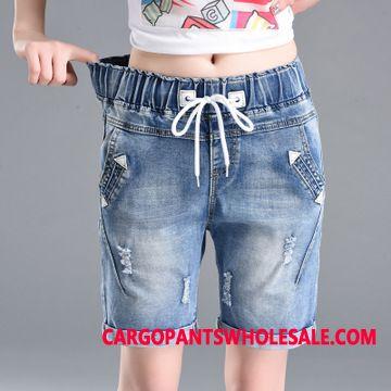 Shorts Women Fashion Slim Fit Shorts Fat Elastic Force