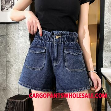 Shorts Women Fat Student Summer Cowboy Shorts