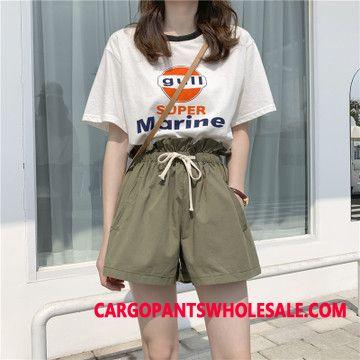 Shorts Women High Waist Autumn Wear Outside Student Summer