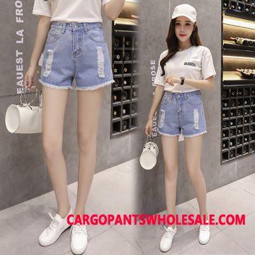 Shorts Women High Waist Shorts Summer Jeans The New