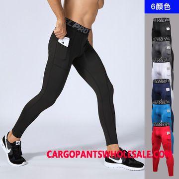 Sweatpants Male Quick Drying Pocket Run Long Tight