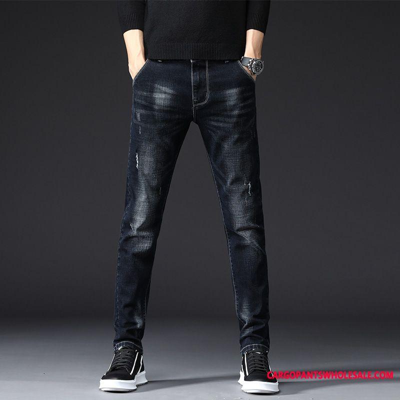 Jeans Male Jeans Small Men Autumn Cowboy Long