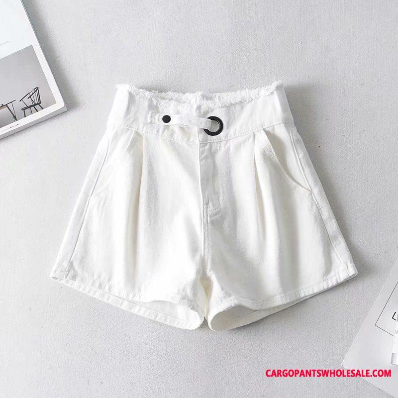 Shorts Women Slim Shorts Summer The New High Waist