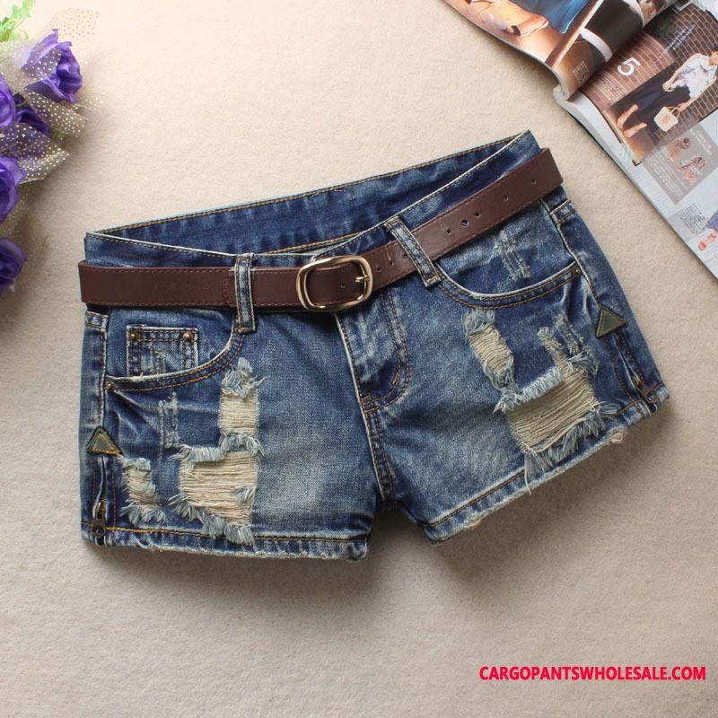 Shorts Women Student Spring Low Waist Large Size Hot Pants