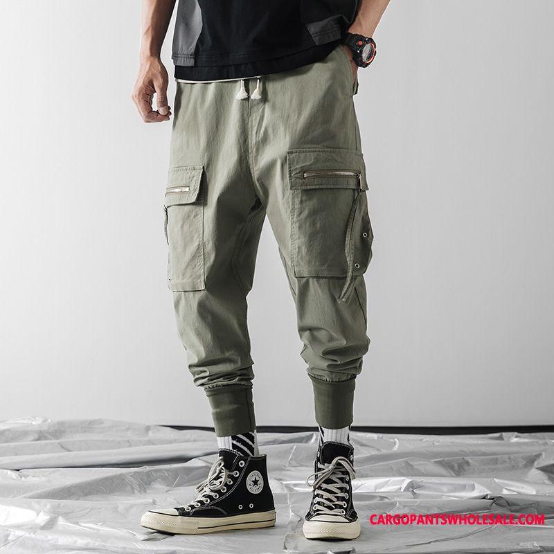 Spodnie Cargo Męskie Modna Marka Więcej Kieszeni Męskie Casual Spodnie Nowy Harlan