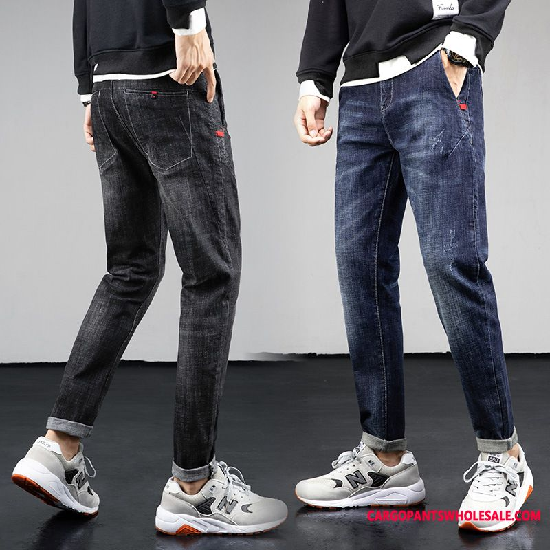 Jeans Male Jeans Pants Men Stretch Pants Autumn Tide Brand