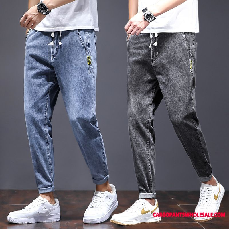 Jeans Male Straight The New Men Tide Brand Loose Trousers